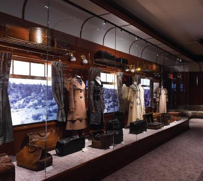 """Louis Vuitton Opens """"Volez, Voguez, Voyagez"""" Exhibition in NYC"""