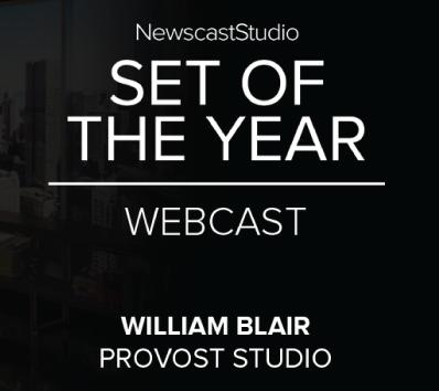 NewscastStudio announces the 2017 Set of the Year award winners