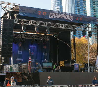 Chicago Cubs World Series Championship Rally