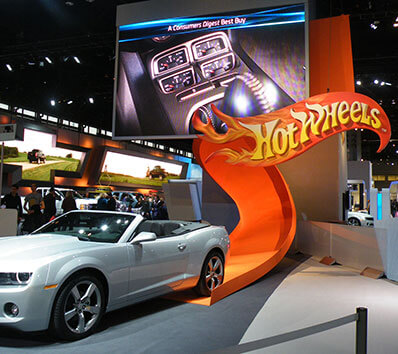 Hot Wheels at Chicago Auto Show