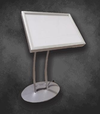 Lightbox Pedestal