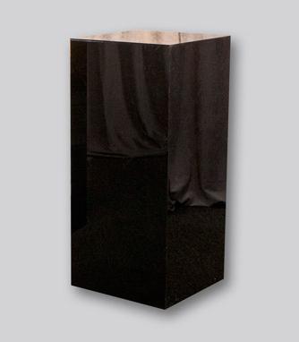 Black Acrylic Pedestal